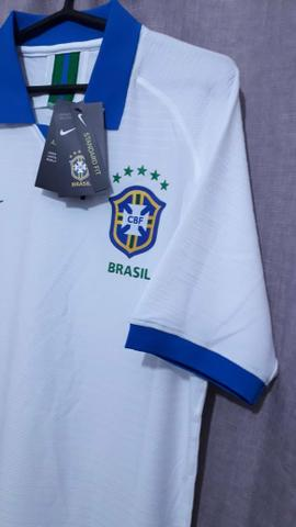 7080edb652237 Camisa nike brasil copa américa 2019 versão jogador masculina g ...