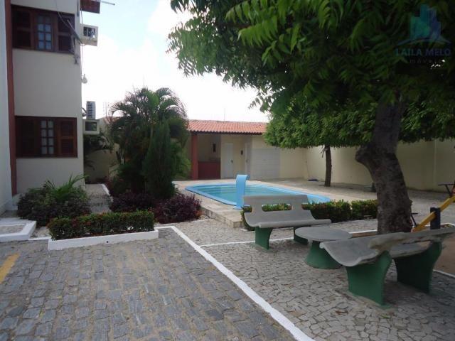 Apartamento com 03 quartos, 01 suíte, 02 vagas, piscina e deck com churrasqueira, sapirang - Foto 4