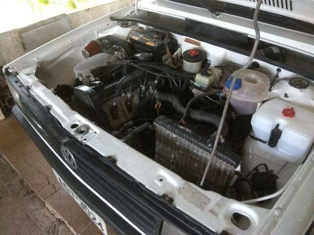 Gol 87 motor AP injetado flex direção hidráulica troco por moto - Foto 8