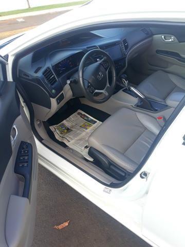 Honda Civic LXR ano 15/16 - Foto 6