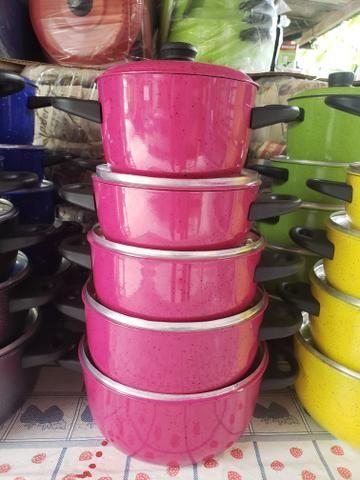 Promoção de panelas várias cores