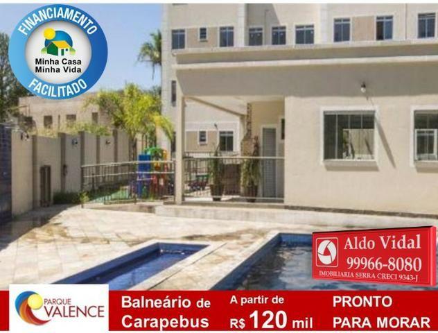 ARV143- Apto 2Q Entrada 0 no M.Casa Minha Vida, Próximo as Praias da Serra - ES - Foto 9