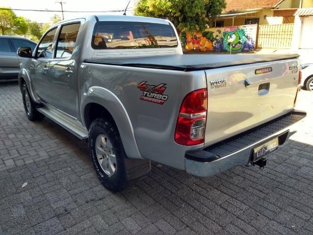 Hilux SRV 3.0 Aut Cab Dupla 4x4 Diesel 2013 - Foto 6