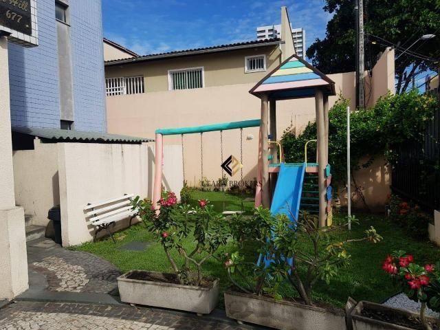 Apartamento com 3 dormitórios à venda, 57 m² por R$ 330.000 - Fátima - Fortaleza/CE - Foto 7