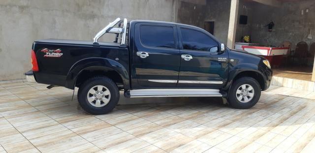 Toyota hilux 2007/2007 srv 4x4 3.0 automatica - Foto 3
