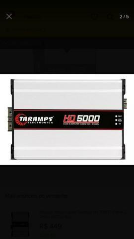 Módulo Amplificador Taramps HD5000 - Foto 2