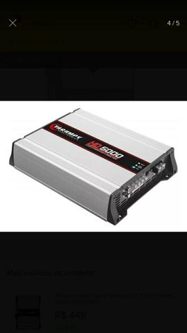 Módulo Amplificador Taramps HD5000 - Foto 5