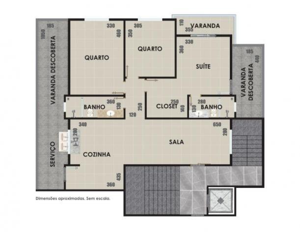 APARTAMENTO à venda, 3 quartos, 1 vaga, CENTRO - ITAUNA/MG - Foto 3