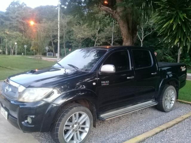 Vendo Hilux SRV 2011 Automática completa