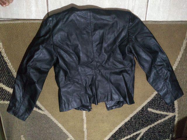 Jaqueta em couro legítimo Mercatto - Foto 5