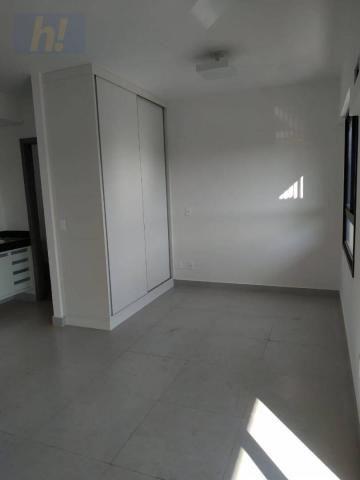 Apartamento com 1 dormitório para alugar, 44 m² por R$ 1.200/mês - Jardim Redentor - São J - Foto 2