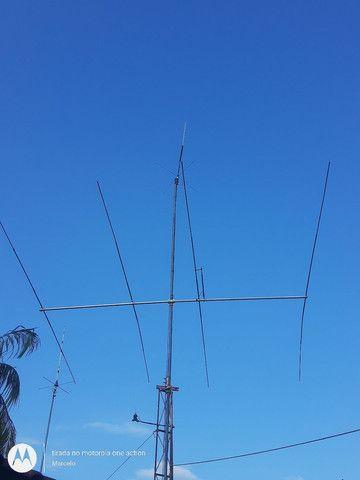 Antena direcional 4 elementos
