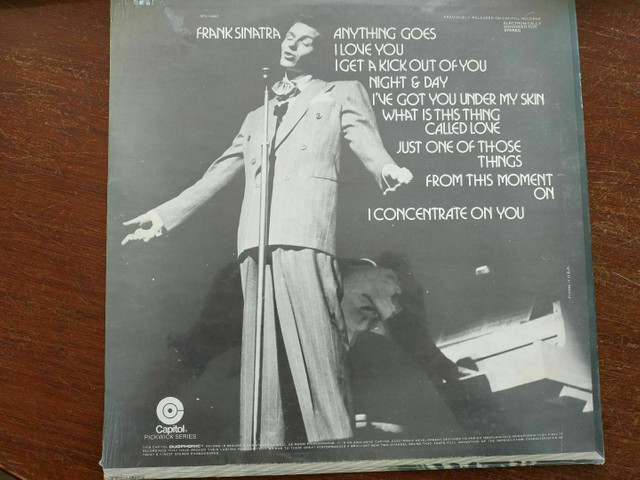 LP (Vinil) Frank Sinatra My Cole Porter - ORIGINAL