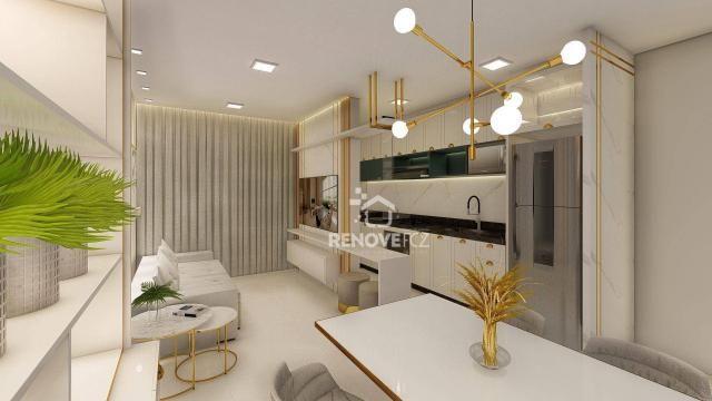 Apartamento com 2 dormitórios à venda, 64 m² - Centro - Foz do Iguaçu/PR - Foto 12