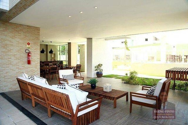 Apartamento com 3 dormitórios à venda, 82 m² por R$ 550.000,00 - Guararapes - Fortaleza/CE - Foto 6