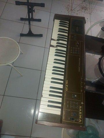 Piano Eletrônico Saema SM -P.10
