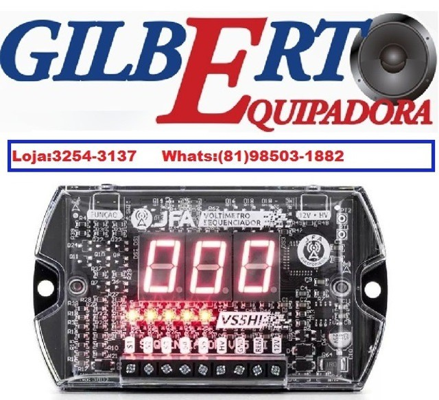 Voltímetro Sequenciador Jfa Vs5hi Até 500v /3254-3137