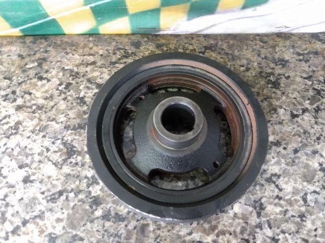 Polia do virabrequim Renault Logan Sandero 1.6 16v 2018 - Foto 3