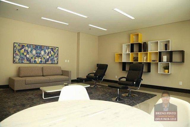 Apartamento com 3 dormitórios à venda, 82 m² por R$ 550.000,00 - Guararapes - Fortaleza/CE - Foto 3