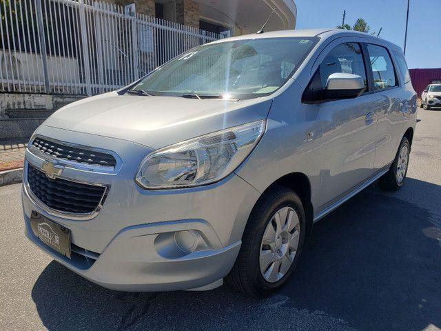 Chevrolet Spin 1.8 LT 5 Lugares vendo troco e financio R$  - Foto 6