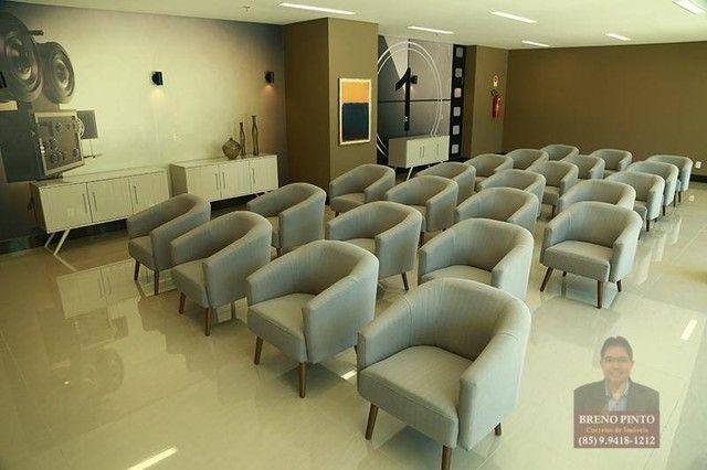 Apartamento com 3 dormitórios à venda, 82 m² por R$ 550.000,00 - Guararapes - Fortaleza/CE - Foto 8