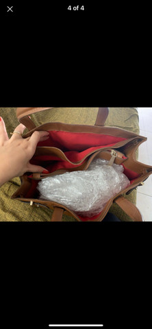 Bolsa Schutz caramelo - Foto 2