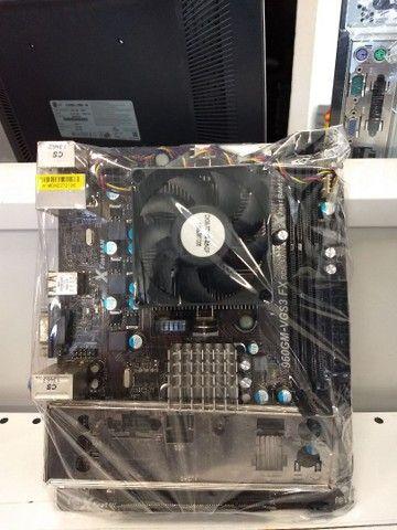 Placa Mãe Asrock 960GM-VGS3 + Processador Phenom X4