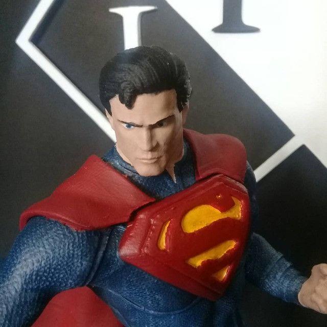 Boneco Colecionável Superman Liga Da Justiça - Foto 4