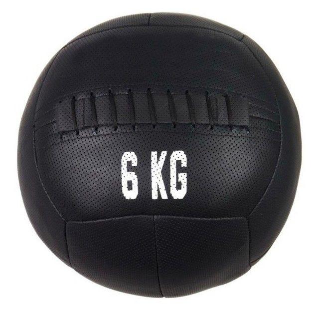 Wall ball nova em couro (medicine ball) - Foto 4