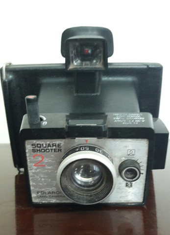 Câmera Polaroid Square Shooter 2 + Vivitar Tele 603