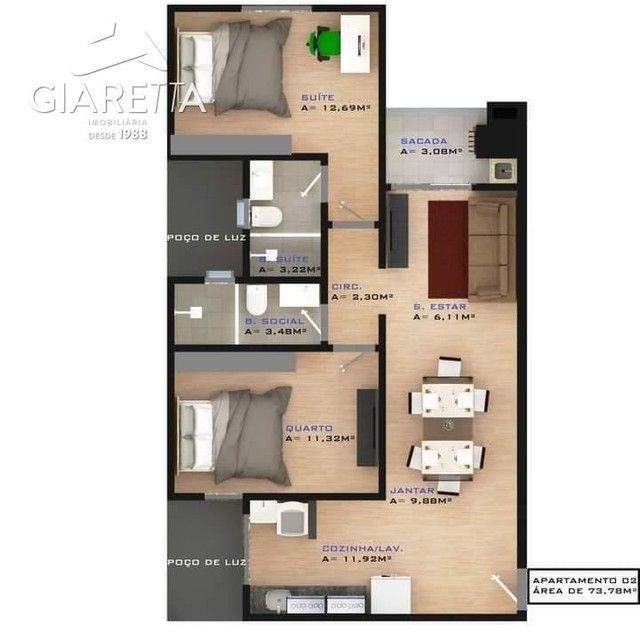 Apartamento à venda, JARDIM SANTA MARIA, TOLEDO - PR - Foto 3