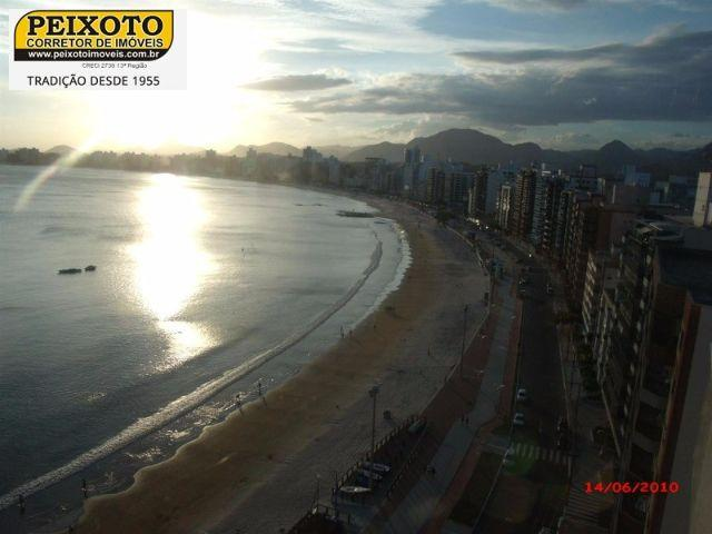 Lindo apto Frente p/ Mar, Praia do Morro - ES