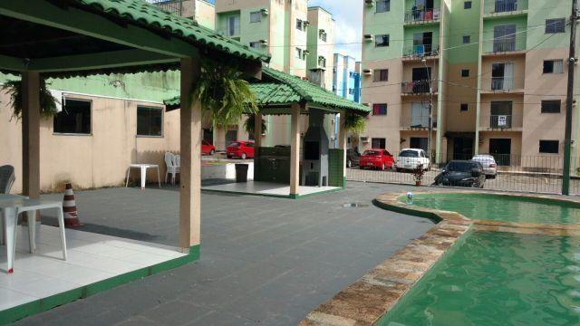 Residencial Green Park II, 2/4 com varanda - Rodovia Mario Covas