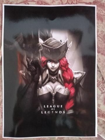 Quadro decorativo - League of Legends MISS FORTUNE