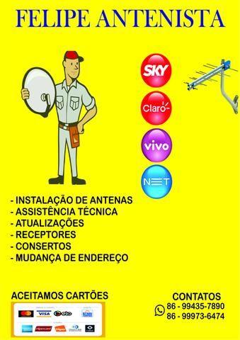 Antenas Claro