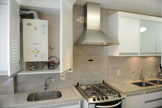 Instalação aquecedor coifa cooktop forno rede gas e medidor central de gas - Foto 3
