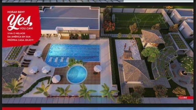 América-Houses> Casa 2 suítes mais lavabo no Bairro Sim com 56m2 construídos .