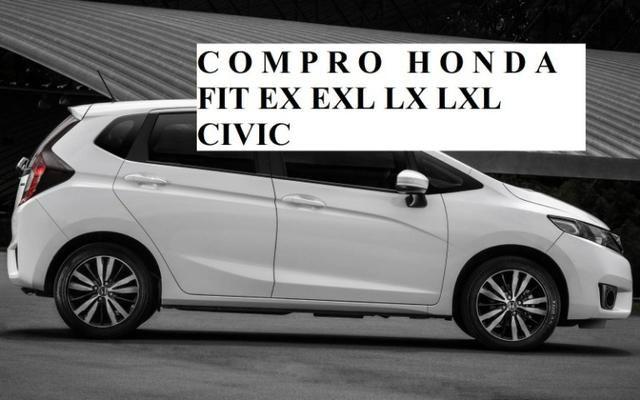 Honda Fit ex exl branco