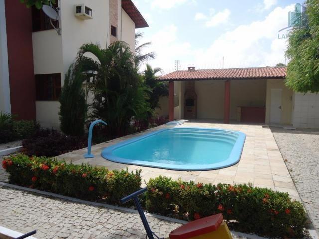 Apartamento com 03 quartos, 01 suíte, 02 vagas, piscina e deck com churrasqueira, sapirang - Foto 3