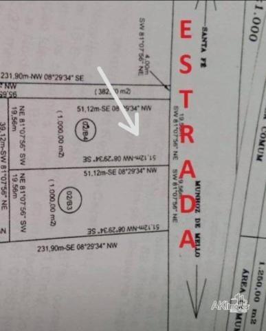 Chácara à venda, 1000 m² por R$ 89.000,00 - Munhoz de Melo - Munhoz de Melo/PR - Foto 2