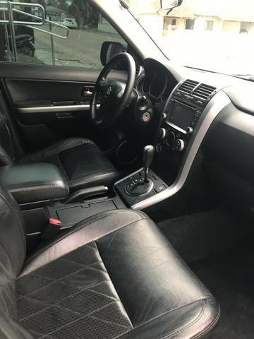 Suzuki Grand Vitara 4x4 Top De Linha Com Baixa Km Pneus Novos Todas Revisão Na Agencia - Foto 9