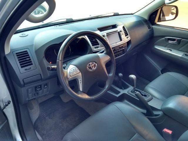 Hilux SRV 3.0 Aut Cab Dupla 4x4 Diesel 2013 - Foto 8