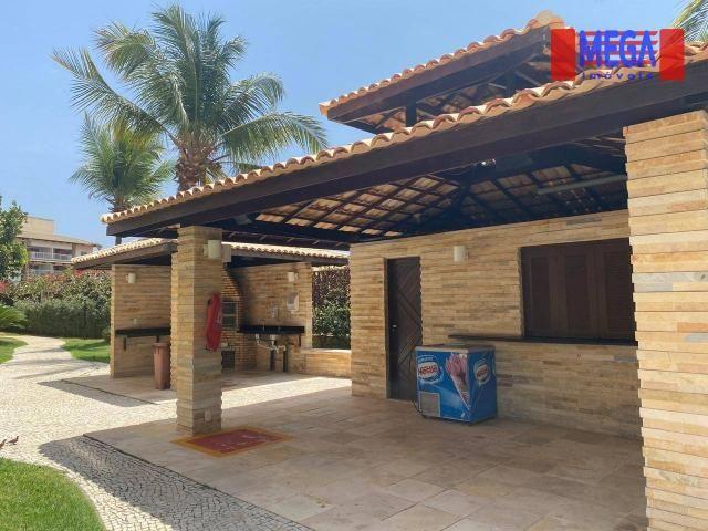 Apartamento com 2 dormitórios para alugar, 72 m² por R$ 2.700,00/mês - Porto das Dunas - A - Foto 4