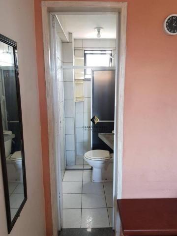 Apartamento com 3 dormitórios à venda, 57 m² por R$ 330.000 - Fátima - Fortaleza/CE - Foto 5