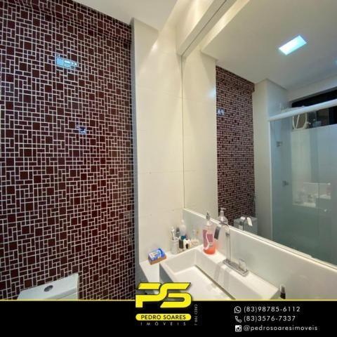 Apartamento com 3 dormitórios à venda, 118 m² por R$ 460.000 - Manaíra - João Pessoa/PB - Foto 5