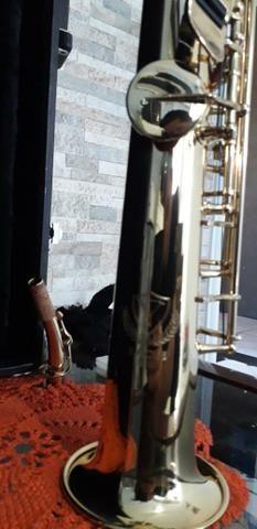 Sax soprano Eagle sp 502 novíssimo lindo - Foto 5
