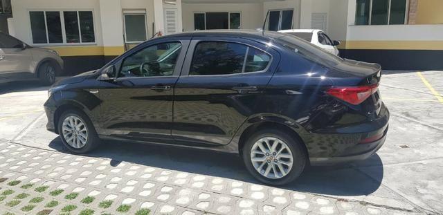 Fiat Cronos 1.3 Drive Firefly GSR (flex) 2018/2019. Automatico. Preto. IPVA 2020 pago - Foto 4