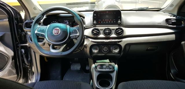 Fiat Cronos 1.3 Drive Firefly GSR (flex) 2018/2019. Automatico. Preto. IPVA 2020 pago