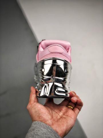 Tênis Adidas Raf Simons Ozweego Silver Rose - Foto 3