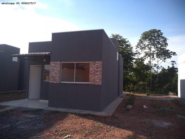 Casa para Venda em Várzea Grande, São Benedito, 2 dormitórios, 1 banheiro, 2 vagas - Foto 12